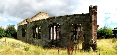 Dukinfield Old Hall Chapel - North View