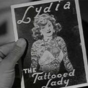 Lydia the tattooed lady
