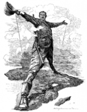 Punch Cartoon - Colossus of Rhodes
