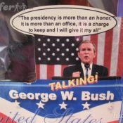 George Bush Talking Doll