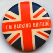 Backing Britain Badge