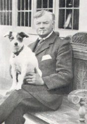 Jerome K Jerome and dog