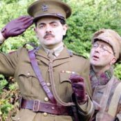 Blackadder and Baldrick