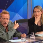 Incredible: Johnny Rotten and Louise Mensch on Quetion Time