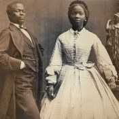 Bonetta and her husband James Pinson Labulo Davies