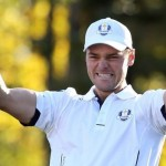 Martin Kaymer celebrates his winning point