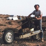 Leray and his bike in 1993