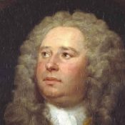 Portrait of James Quin by Hogarth