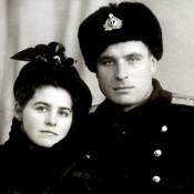 Arkhipov and his wife Olga