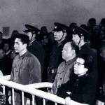 Jiang (right) at her trial