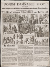 Sir Edmund Godfrey Popish Plot newspaper