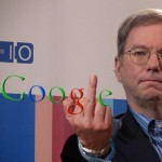 Give Google the Finger