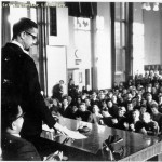 Malcolm X at Manchester University