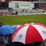 Cricket in the Rain