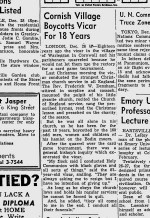 Charlston New & Courier - 29th Dec 1952