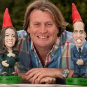 William and Kate Gnomes