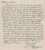 Ireland's forged Shakespeare letter
