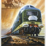 Flying Scotsman Poster