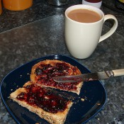 Tea and toast