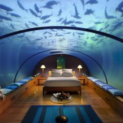 Under water bedroom