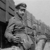 Albert Goring in the trenches