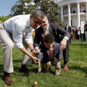 Egg rolling at the White House
