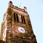 The Papingo on the Clock Tower