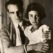 Umberto with his daughter, Maria, after the crash
