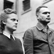 Irma Grese and Josef Kramer