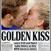 Laura Trott and fiance