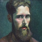 John Petts self-portrait