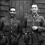 Tull with other officers in 1917