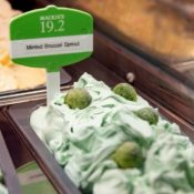 Brussels Sprout Ice Cream